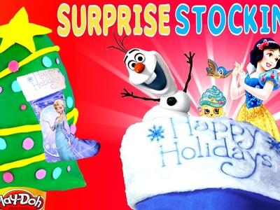 SURPRISE STOCKING Frozen - Play Doh Disney Princess Despicable Me Shopkins Minnie Mouse Egg Toys