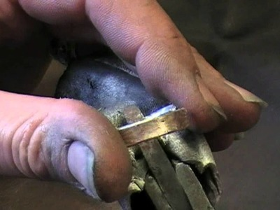 The making of Mokume-gane wedding rings. Part 2 English version