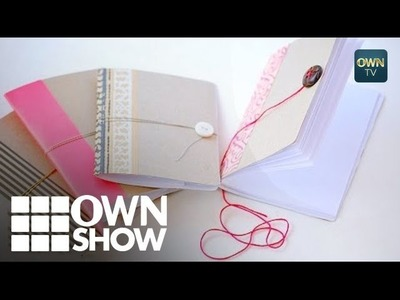 Tiny Handmade Notebooks From An Unlikely Material | #OWNSHOW | Oprah Winfrey Network