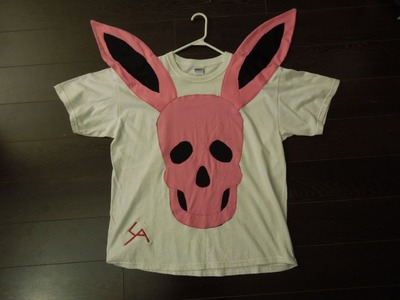 Tutorial: K-pop Inspired Bunny Skull T-Shirt
