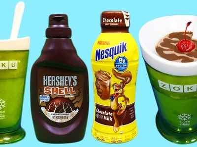 Zoku Slush and Shake Maker | DIY Easy How to Make a Chocolate Ice Cream Shake!