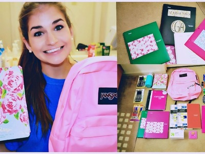 BACK TO SCHOOL SUPPLIES HAUL + DIY Personalized Folders, Notebooks, Etc.