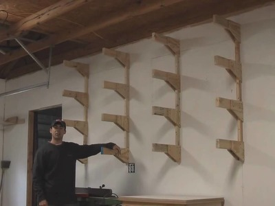 Build a Lumber Rack Garage Shop - How To