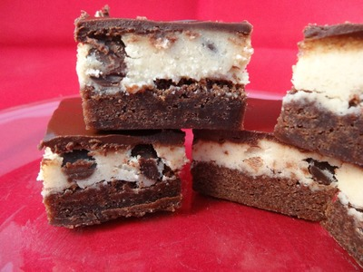 Chocolate Chip Cookie Dough Brownies - with yoyomax12
