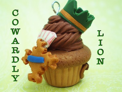 Clay Made Easy: Cowardly Lion Cupcake Tutorial