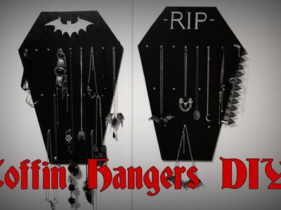 COFFIN HANGER D-I-Y || Gothic Homewares + GIVEAWAY!