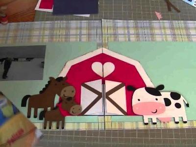 Cricut Layouts: Farm Layout Using Create a Critter Cartridge