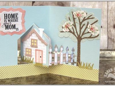 Designer Challenge April 2014 - House Pivot Card