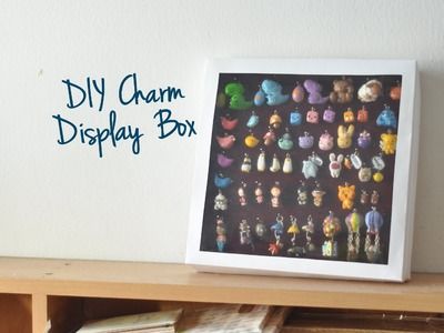 DIY Charm Display Box (Dust-proof)