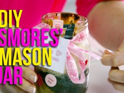 DIY-Learn How To Make S'Mores in a Mason Jar!