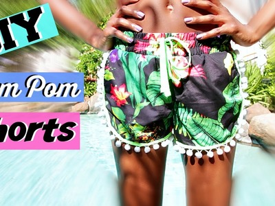 DIY Pom Pom Shorts + More | Summer 2015 | Tashalala