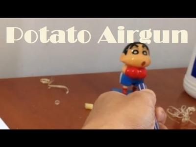 Easy DIY Potato Air Gun Toys - Airsorf Pen Gun