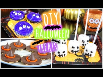 Easy + Quick DIY Halloween Treats! 2014