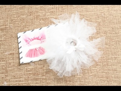 Elf On The Shelf Accessories - Make a tutu DIY