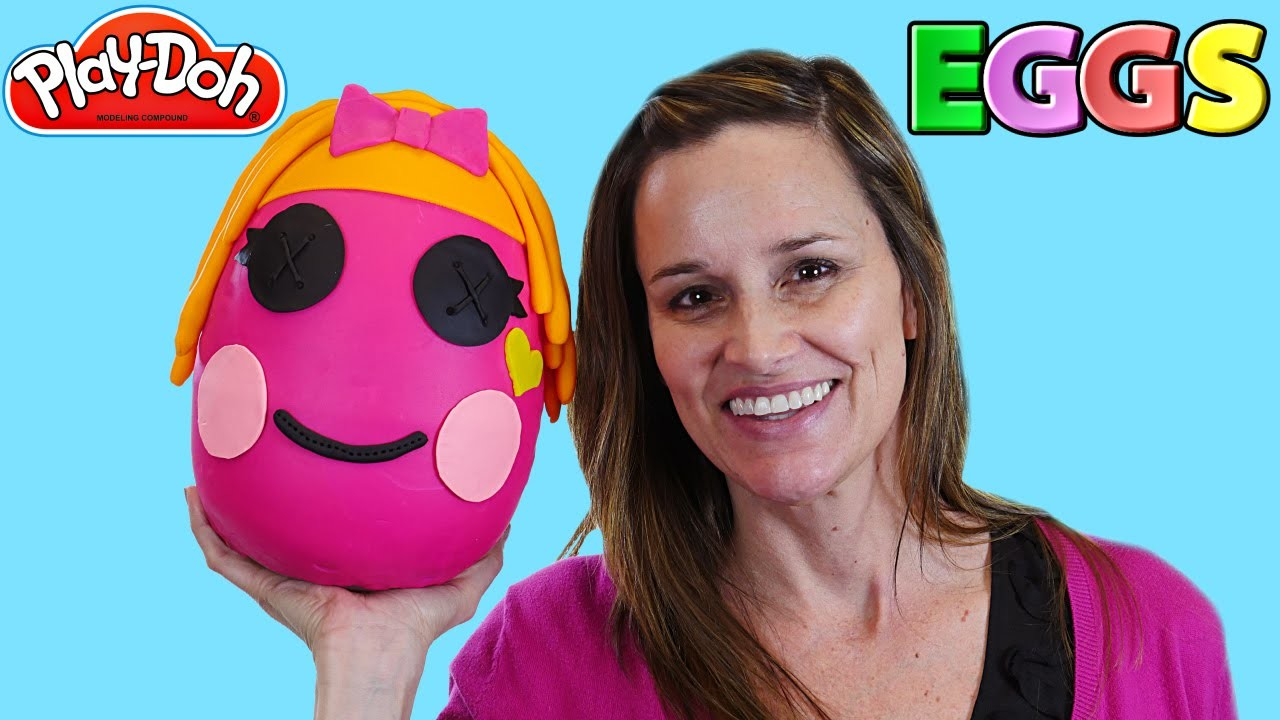 Giant Lalaloopsy Eggs Opening ★ Huevos Sorpresa Play Doh LPS Shopkins Surprise Egg