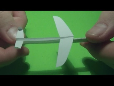 How to: Build a Micro Paper Plane