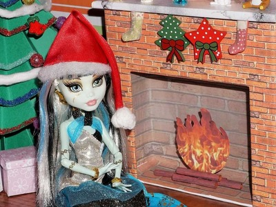 How to make a doll fireplace (Monster High, EAH, Barbie, etc)