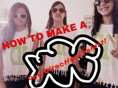 How To Make a One Direction T-shirt