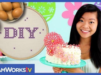 Kawaiisweetworld's Spring Time Cake I DIY