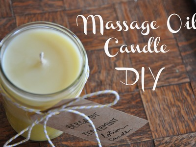 Massage Oil Candle Valentines DIY | Emma Will
