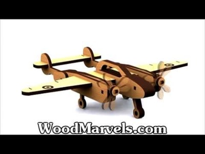 P-38 Lighting Aircraft: How to Build (HD)