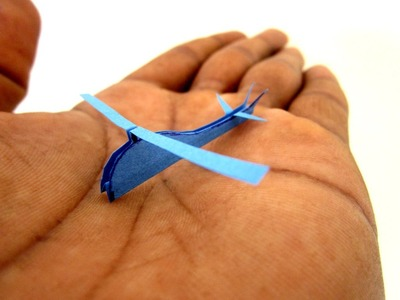 Paper Helicopter - How To Make a Helicopter - Origami Helicopter - Worlds SMALLEST Helicopter R22