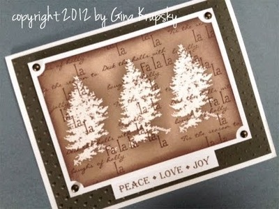 Peace, Love, Joy Holiday Card