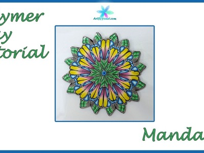 Polymer Clay Tutorial - Mandala - Lesson #43