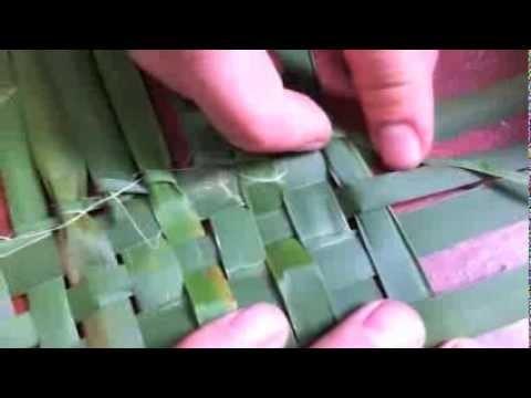 Primitive Basket Weaving