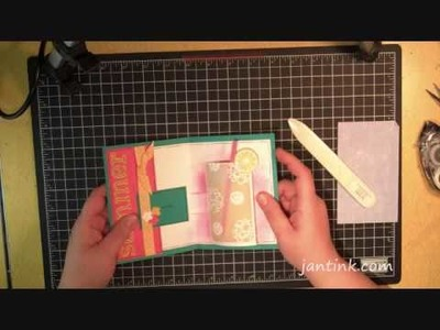 Sensational Cylinder Card Tutorial