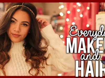 Tutorial: EVERYDAY MAKEUP AND HAIR (High School)