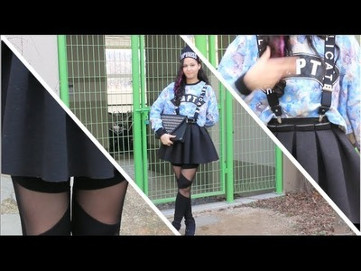 What I wore this weekend! Fun K-pop style fashion