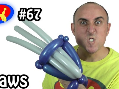 Wolverine Claws - Balloon Animal Lessons #67