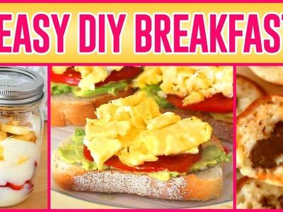3 Easy DIY Breakfasts!