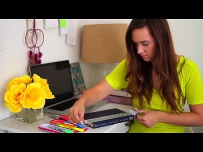 Back to School ♡ Study Tips plus DIY Organization   School Supplies   YouTube