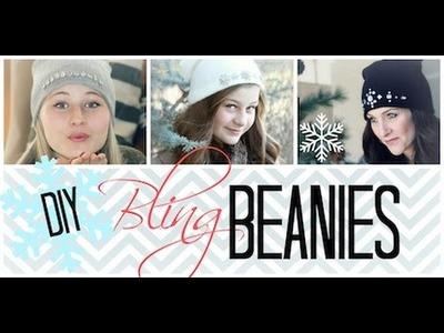 Bling Beanies DIY   ShowMeCute