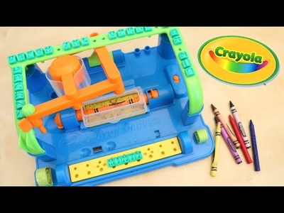 Crayola Motorized Crayon Carver DIY Make Your Mark Toy Review