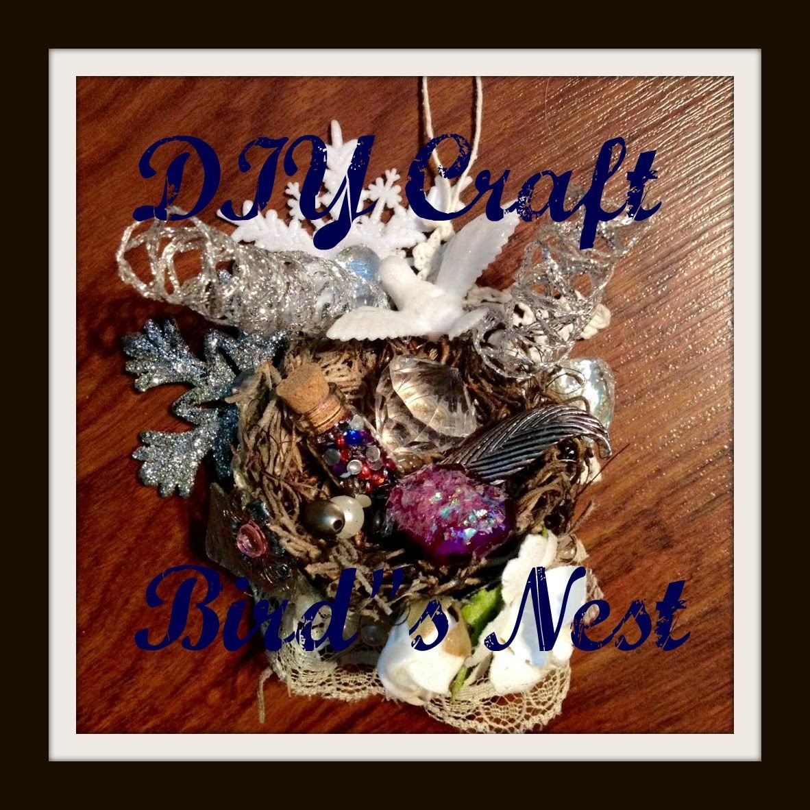 DIY Craft Bird