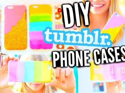 DIY Easy & Affordable Phone Cases For Summer And Back To School!