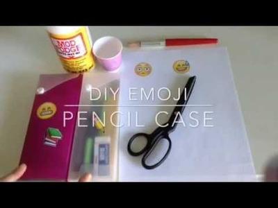 DIY Emoji Pencil Case