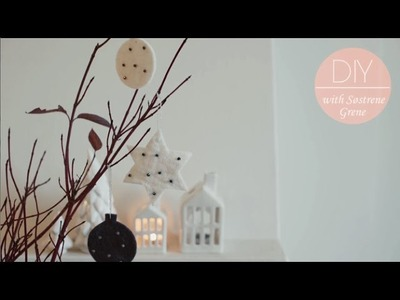 DIY: Felt decoration ornaments by Søstrene Grene