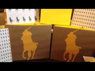 DIY Horseman Gift Bags and Favor Box