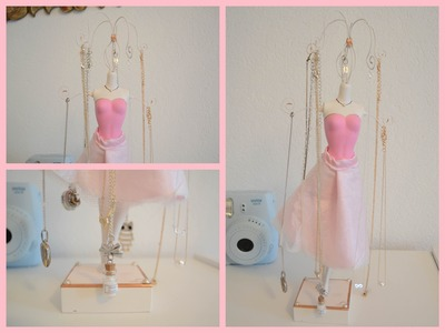 DIY Mannequin Jewelry Stand (Recycle your old Barbie)