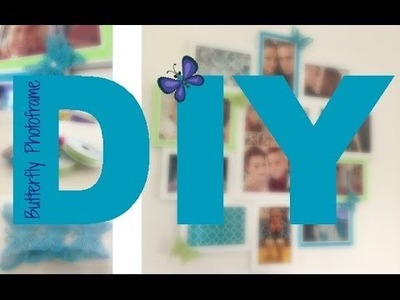 DIY: Pretty Butterfly Picture Frame