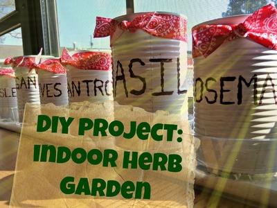 DIY project: Indoor Herb Garden