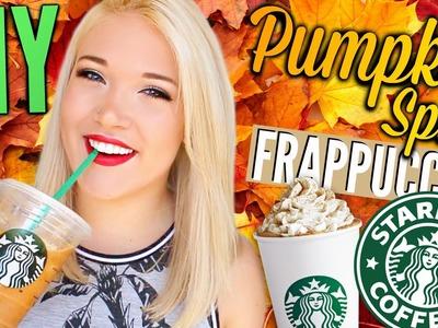 DIY Pumpkin Spice Frappuccino - Starbucks Inspired! | Cicily Boone