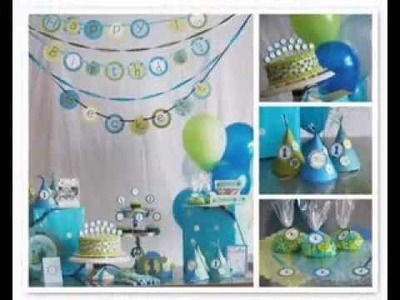 Easy DIY ideas for birthday party decorations