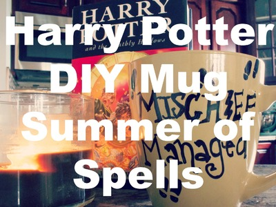 Harry Potter DIY Mug - Summer Of Spells!