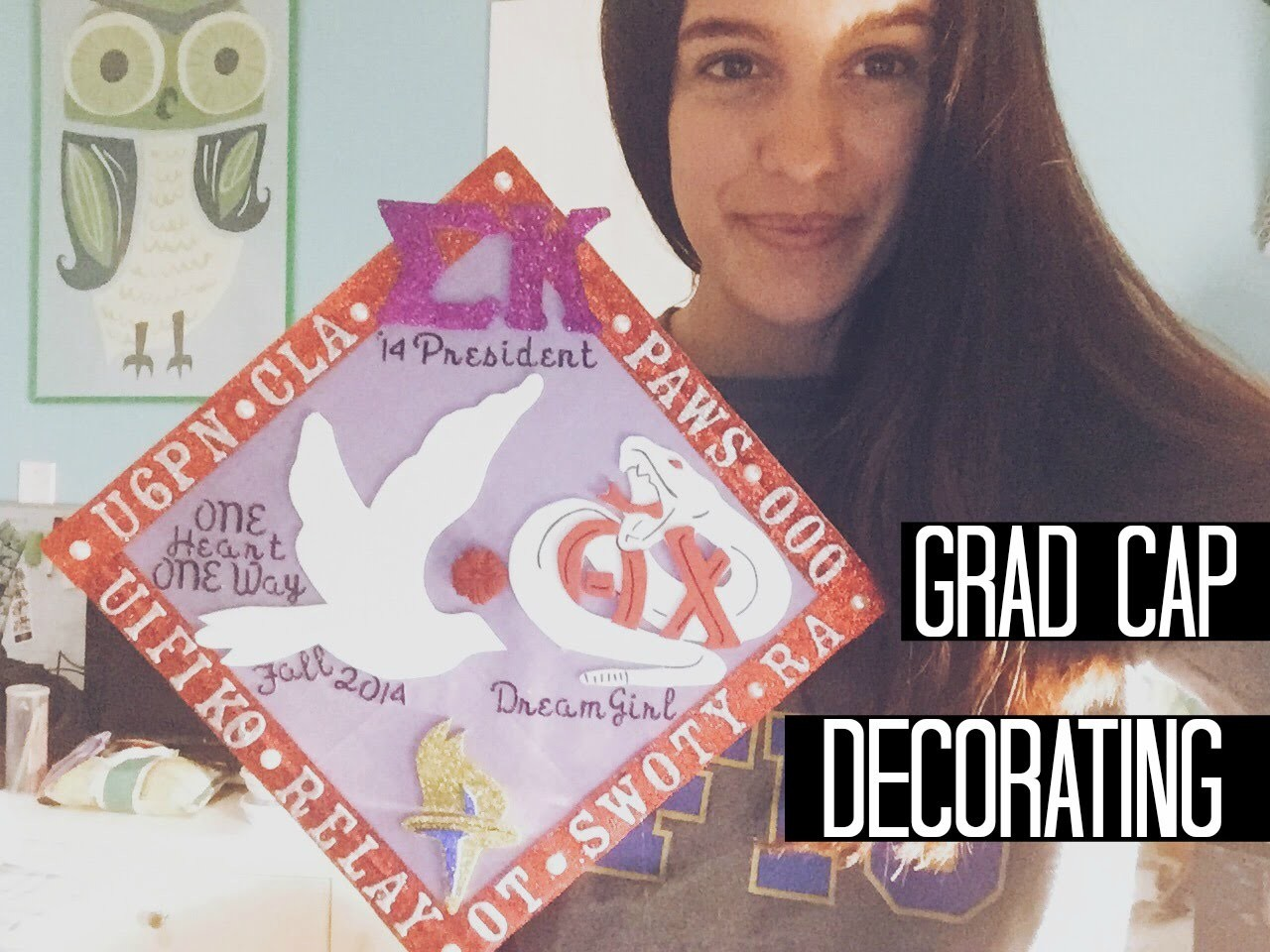 LIFE AS BINX: Grad Cap Decorating DIY
