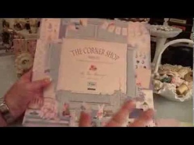 "Must See! Happy Mail & Tilda ""The Corner Shop"" Paper Pad"